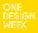 ONE DESIGN WEEK
